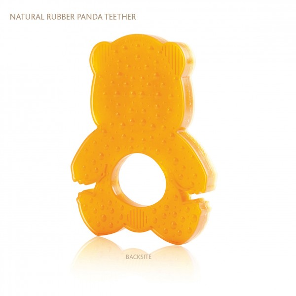 HEVEA Panda Natural Rubber Teether