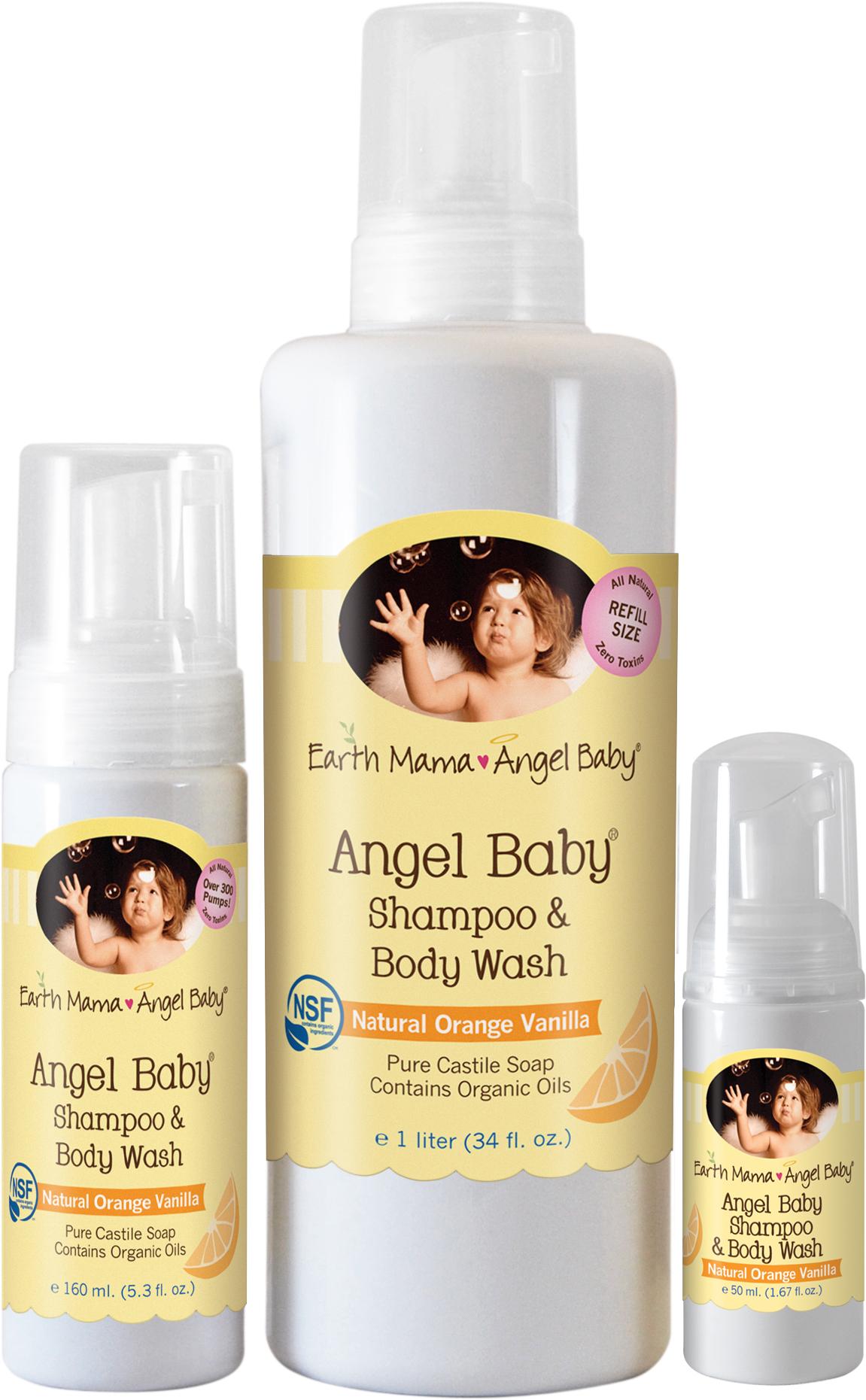 Earth Mama Angel Baby – Angel Baby Shampoo & Body Wash