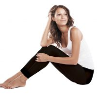 Fertile Mind Footless SoftTights, Footless Maternity Tights