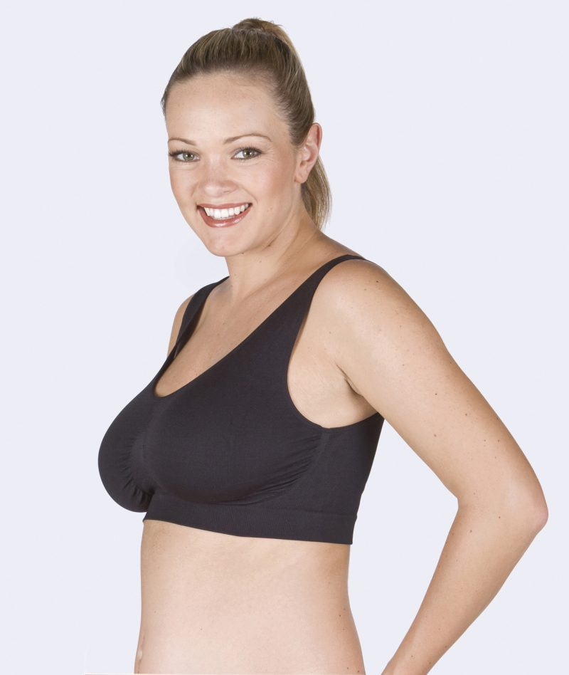 Fertile Mind Maternity Bra Superbra in Black