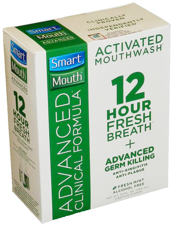 Smart Mouth Advanced Clinical Formula Activated Mouthwash 32 oz