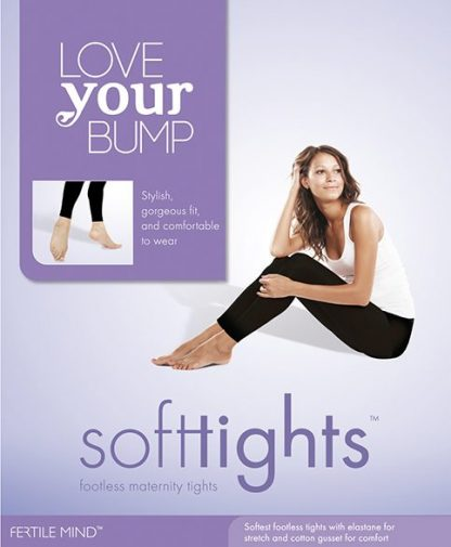 Footless Maternity Tights Fertile Mind SoftTights