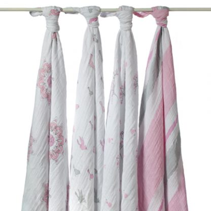 For The Birds Classic Swaddles by aden and anais