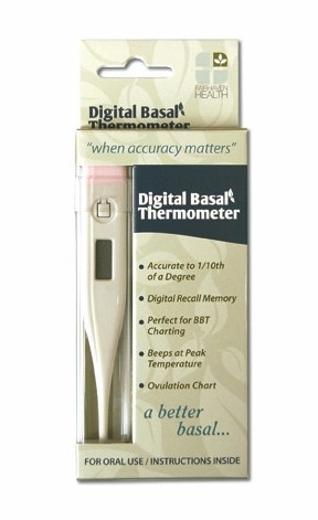 Digital Basal Fertility Thermometer