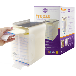 Milkies Freeze Breast Milk Freezer Storage
