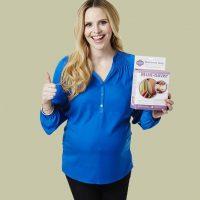 Rosie Pope Star of Bravo's Pregnant in Heals Endorses Milkies Milk Saver Breast Milk Collector