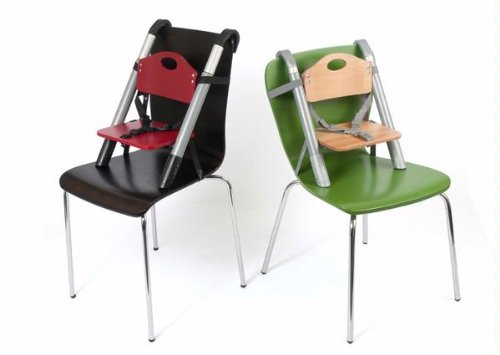 Charmant SCI SVAN Lyft Booster Seat Natural On Green Chair And Red On Espresso Chair