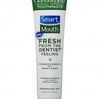 SmartMouth Whitening Toothpaste with Fluoride