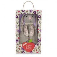 Bunny Organic Patterned Blankie by Apple Park
