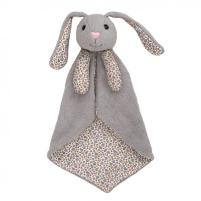 Apple Park Bunny Organic Patterned Blankie