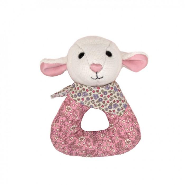 Apple Park Lamby Organic Baby Rattle