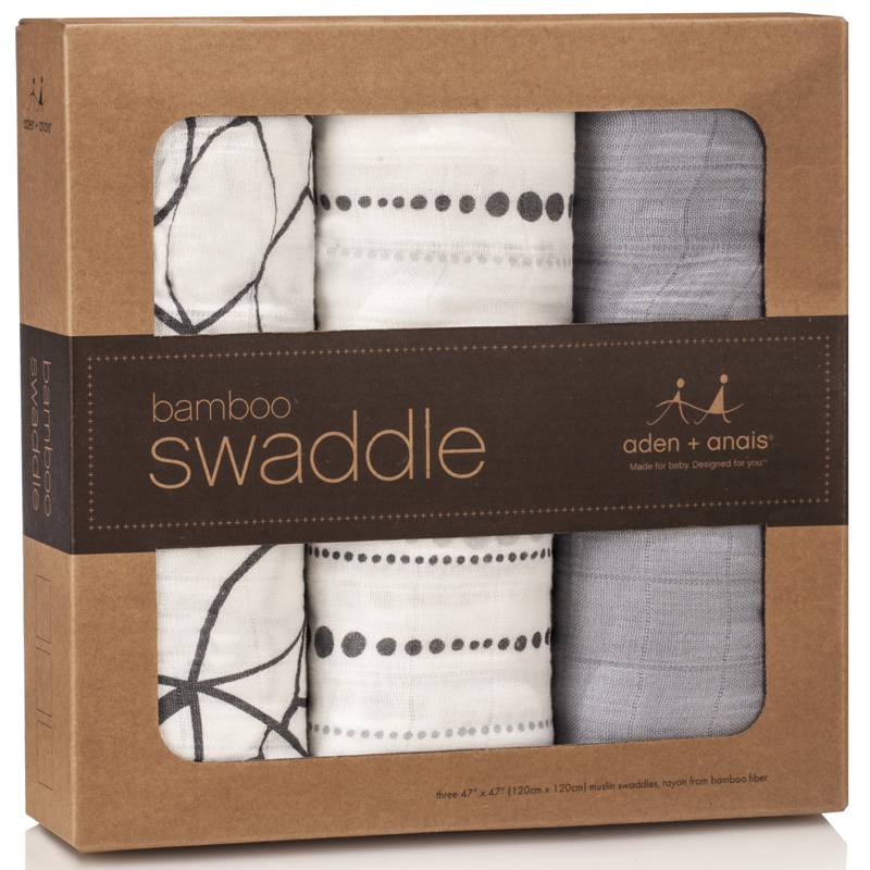 Aden And Anais Swaddle Blankets New Aden Anais Moonlight Bamboo Swaddle Blanket 60Pk