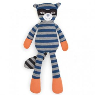 "Apple Park Organic Farm Buddies Robbie Raccoon 14"" Plush Toy"