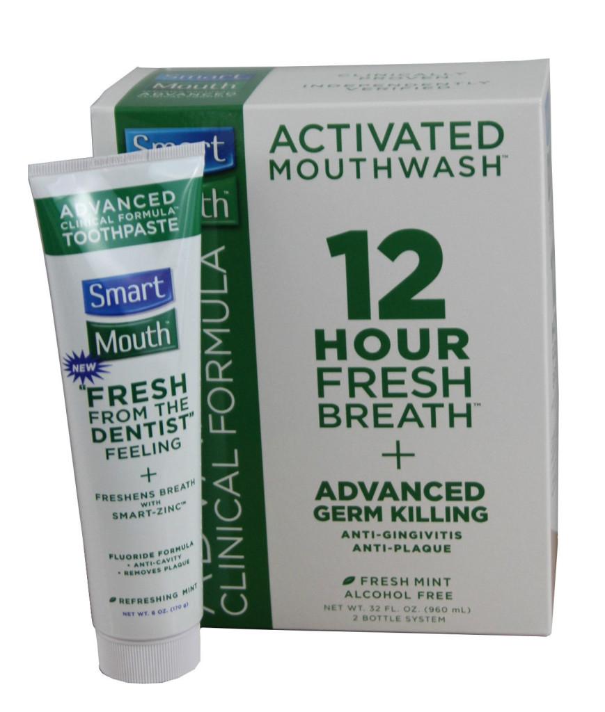 Smartmouth 32 Oz Mouthwash Amp Toothpaste Combo