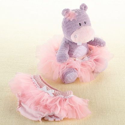 """""""Lady Lulu and Baby's Tutu"""" Plush Plus Bloomer for Baby by Baby Aspen"""