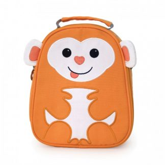 Apple Park Orange Monkey Lunch Box for Toddlers