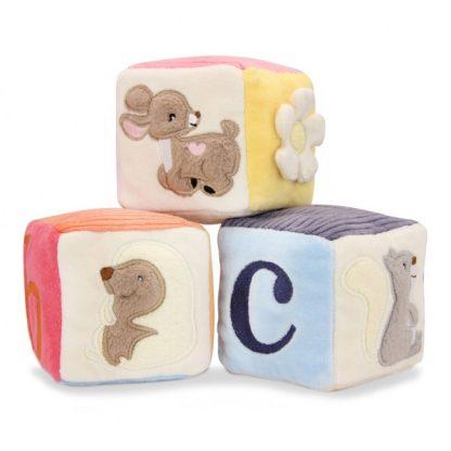 Apple Park Woodland Soft Blocks for Baby