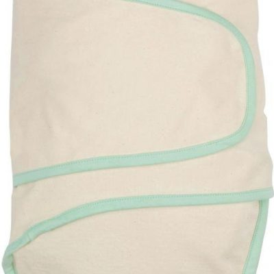 Miracle Blanket Beige with Green Binding