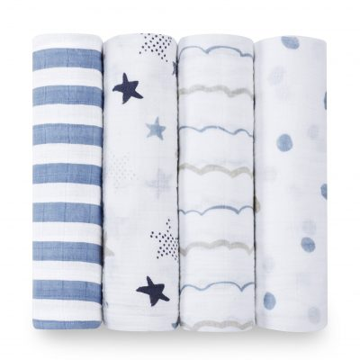 Rock Star Classic Muslin Swaddle by Aden and Anais