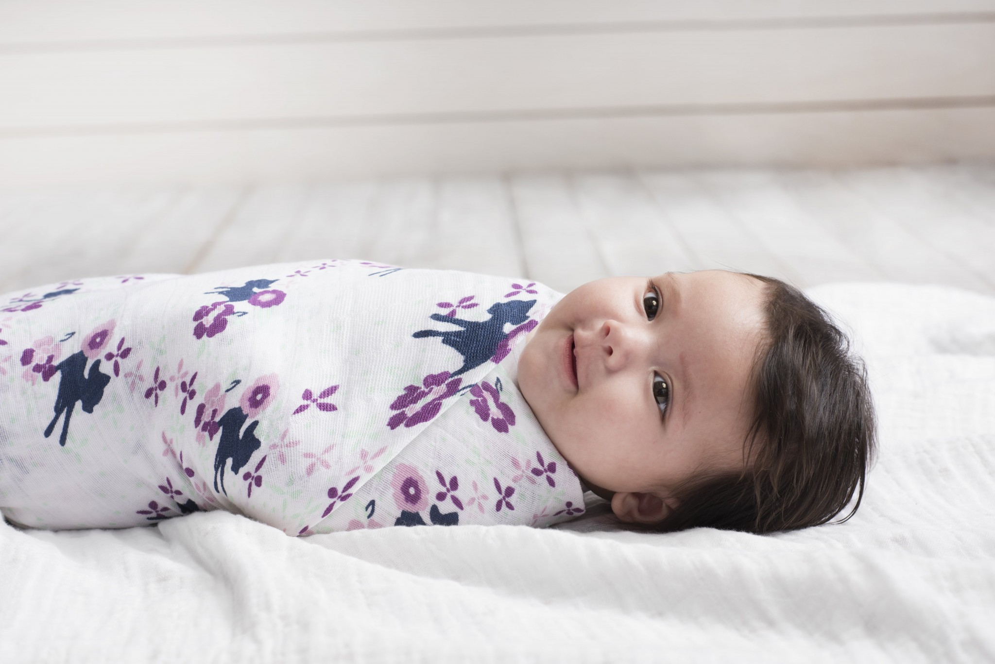 c14bac017e 47″ Bambi Classic Swaddle Blanket (4-Pack) by Aden + Anais – Preggie ...