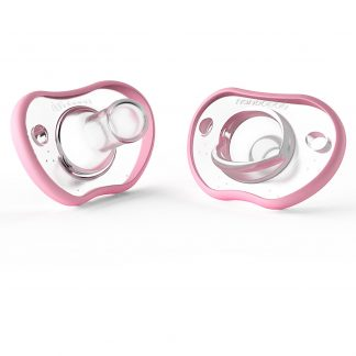 Nanobebe Flexy Pacifier Pink