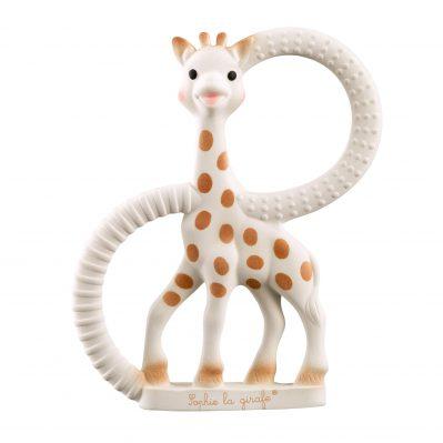 Sophie the Giraffe Teething Ring in Gift Box