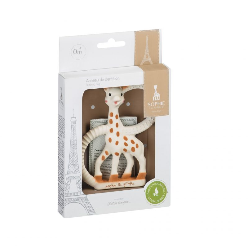 Sophie the Giraffe Teething Ring in Gift Box