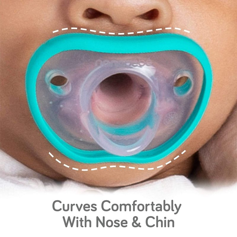 Nanobebe Pacifiers, Flexy Pacifiers in Teal